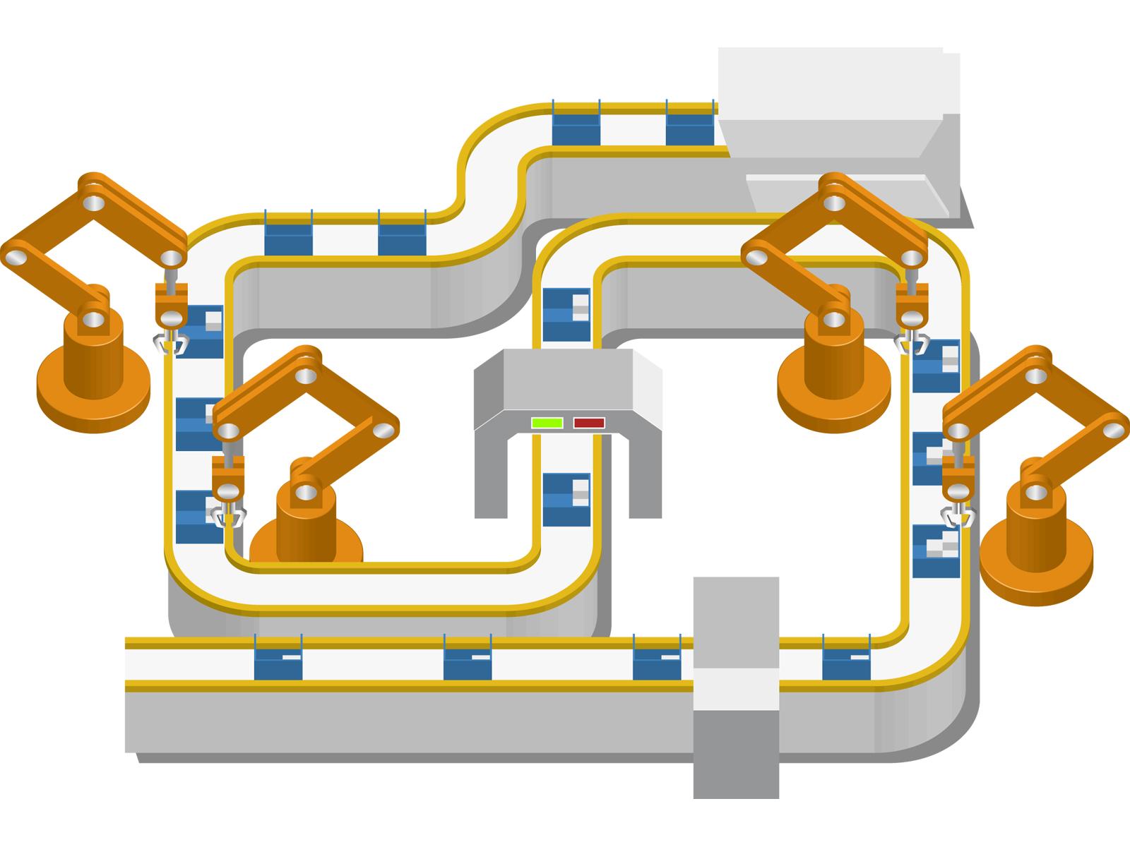 ロボットシステムの画像
